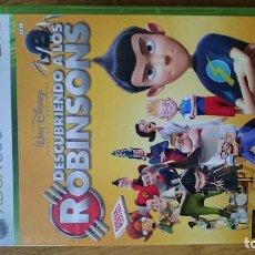 Videojuegos y Consolas: DESCUBRIENDO A LOS ROBINSON MICROSOFT XBOX 360 VIDEOJUEGO DVD. Lote 70716941