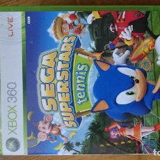 Videojuegos y Consolas: SEGA SUPERSTARS TENIS MICROSOFT XBOX 360 VIDEOJUEGO DVD. Lote 70718025
