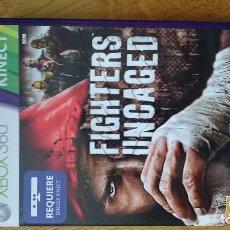 Videojuegos y Consolas: FIGHTERS UNCAGED KINECT MICROSOFT XBOX 360 VIDEOJUEGO DVD. Lote 70719189