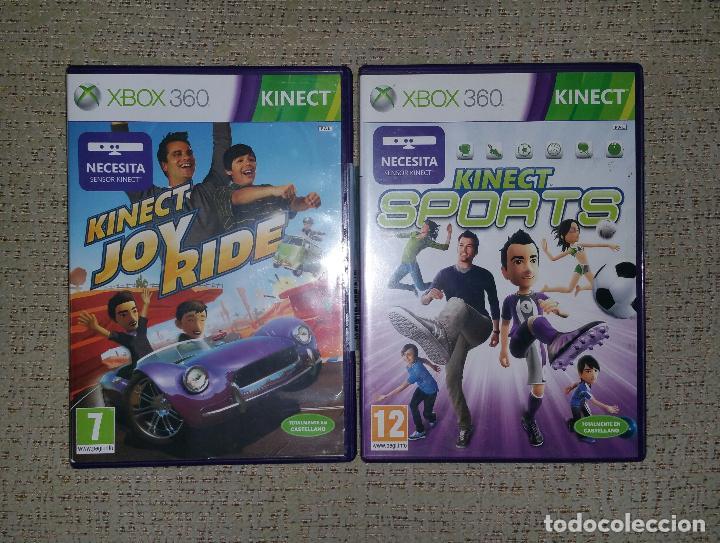 Microsoft Xbox 360 Lote De Dos Juegos Kinect Comprar Videojuegos