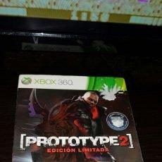 Videojuegos y Consolas: XBOX 360 PROTOTYPE 2 EDICION LIMITADA CARTON. Lote 73411483