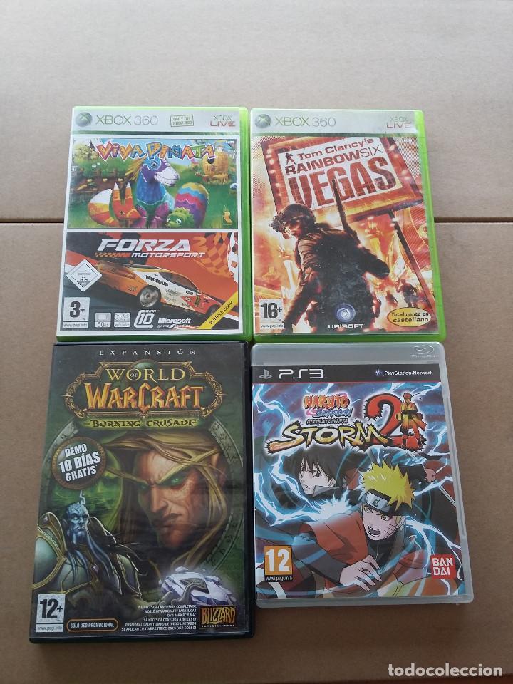 PACK JUEGOS XBOX360 + PS3 + PC DEMO ( VER DESCRIPCION) (Juguetes - Videojuegos y Consolas - Microsoft - Xbox 360)