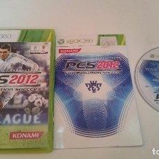 Videojuegos y Consolas: JUEGO COMPLETO PES 2012 PRO EVOLUTION SOCCER PAL MICROSOFT XBOX 360 ESPAÑA.. Lote 74393635