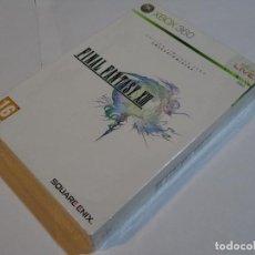 Videojuegos y Consolas: JUEGO PARA XBOX 360 FINAL FANTASY XIII ED. COLECCIONISTA ESPAÑOL NUEVO Y PRECINTADO. Lote 191732033