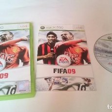 Videojuegos y Consolas: JUEGO COMPLETO FIFA 09 SOCCER 2009 MICROSOFT XBOX 360 PAL EUROPA UK.. Lote 75024915