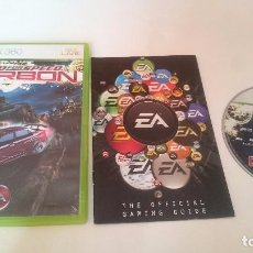 Videojuegos y Consolas: JUEGO COMPLETO NEED FOR SPEED CARBON PAL MICROSOFT XBOX 360 UK INGLÉS.. Lote 75034635