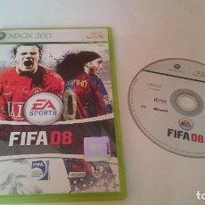 Videojuegos y Consolas: JUEGO COMPLETO FIFA 08 SOCCER 2008 MICROSOFT XBOX 360 PAL EUROPA UK.. Lote 75159915