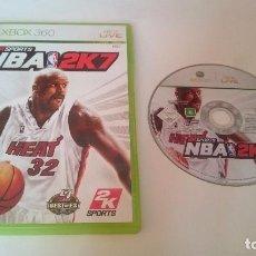 Videojuegos y Consolas: JUEGO NBA 2K7 2007 2K SPORTS MICROSOFT XBOX 360 PAL CASTELLANO. Lote 75160419