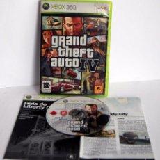 Videojuegos y Consolas: GTA GRAND THEFT AUTO IV COMPLETO DE XBOX 360 4. Lote 75304471