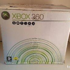 Videojuegos y Consolas: CONSOLA XBOX 360, INCLUYE CAJA, CABLES, DISCO DURO Y UN MANDO-. Lote 76048343