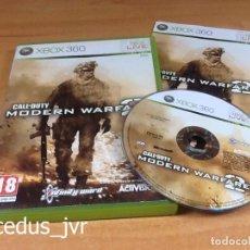Videojuegos y Consolas: CALL OF DUTY MODERN WARFARE 2 JUEGO PARA XBOX 360 PAL ESPAÑA COMPLETO. Lote 77821757