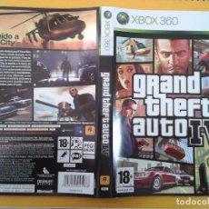 Videojuegos y Consolas: GTA IV (CARATULA). Lote 79753961