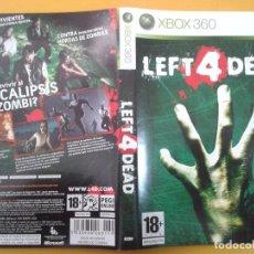 Videojuegos y Consolas: LEFT 4 DEAD (CARATULA). Lote 79754181