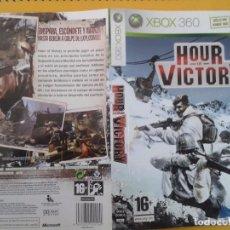 Videojuegos y Consolas: HOUR OF VICTORY (CARATULA). Lote 79754569