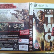 Videojuegos y Consolas: ARMY OF TWO (CARATULA). Lote 79754737