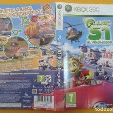 Videojuegos y Consolas: PLANET 51 (CARATULA). Lote 79754885