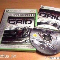 Videojuegos y Consolas: RACE DRIVER GRID JUEGO PARA MICROSOFT XBOX 360 PAL EN BUEN ESTADO NO FUNCIONA. Lote 80791446