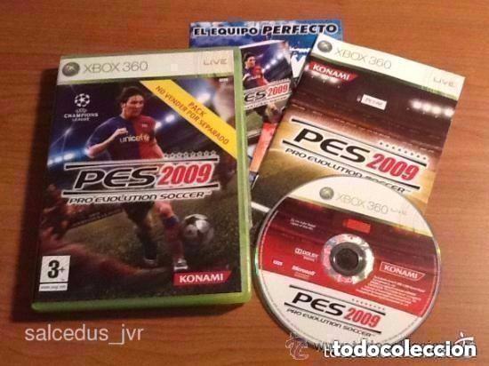 PRO EVOLUTION SOCCER 2009 PES 09 JUEGO COMPLETO PARA MICROSOFT XBOX 360 VERSIÓN ESPAÑOLA (Juguetes - Videojuegos y Consolas - Microsoft - Xbox 360)
