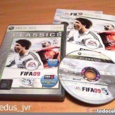 Videojuegos y Consolas: FIFA 09 JUEGO PARA XBOX 360 PAL ESP ESPAÑA EN BUEN ESTADO - 2009 SOCCER. Lote 81049208