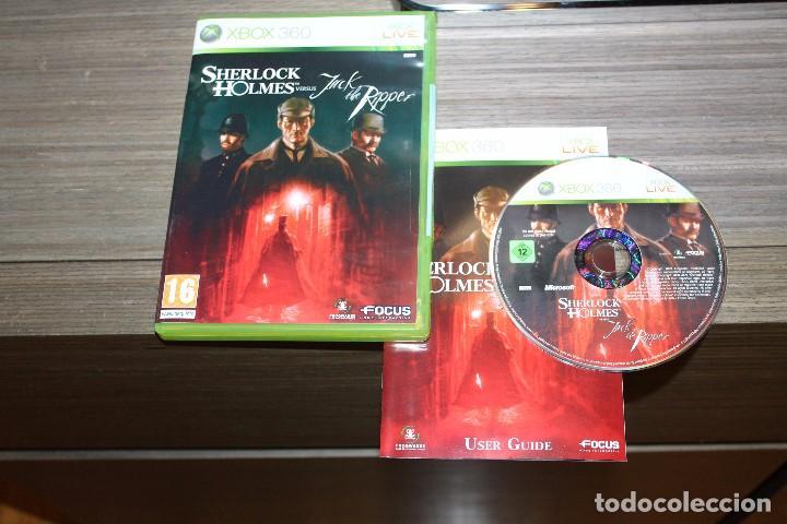 SHERLOCK HOLMES VERSUS JACK THE RIPPER PARA XBOX 360 CON CAJA (Juguetes - Videojuegos y Consolas - Microsoft - Xbox 360)