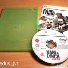 Videojuegos y Consolas: KANE & LYNCH DEAD MEN JUEGO PARA MICROSOFT XBOX 360 PAL EN ESPAÑOL Y BUEN ESTADO. Lote 81642488