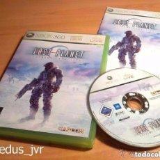 Videojuegos y Consolas: LOST PLANET EXTREME CONDITION JUEGO PARA MICROSOFT XBOX 360 PAL COMPLETO EN ESPAÑOL. Lote 81642996