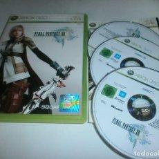 Videojuegos y Consolas: FINAL FANTASY XIII XBOX 360 COMPLETO. Lote 83262428