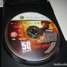 Videojuegos y Consolas: XBOX 360 50 CENT BLOOD ON THE SAND SOLO DISCO SIN CARATULA . Lote 86432588