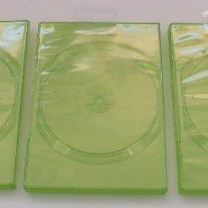 Videojuegos y Consolas: CAJAS ESTUCHES PARA VIDEOJUEGOS, CD, DVD. FORMATO XBOX. LOTE DE 3 UNIDADES.. Lote 87340344