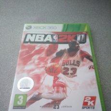 Videojuegos y Consolas: XBOX 360 NBA 2K11 MITICO JUEGO DE MICHAEL JORDAN. Lote 152500337