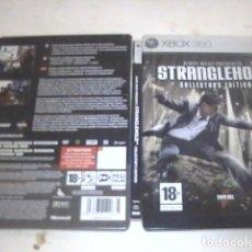 Videojuegos y Consolas: STRANGLEHOLD COLLECTORS EDITION XBOX 360 CAJA METALICA. Lote 91531705