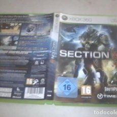 Videojuegos y Consolas: SECTION 8 XBOX 360 PAL. Lote 91617200