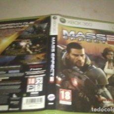 Videojuegos y Consolas: MASS EFFECT 2 XBOX 360-PERFECTO ESTADO. Lote 91699230