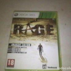 Videojuegos y Consolas: RAGE XBOX360 - PAL - NUEVO Y PRECINTADO. Lote 91700355