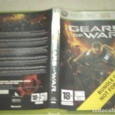 Videojuegos y Consolas: GEARS OF WAR XBOX 360. Lote 91953095