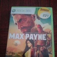 Videojuegos y Consolas: MAX PAYNE 3,PARA XBOX 360. Lote 92834548