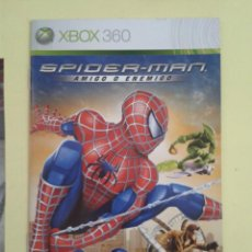 Videojuegos y Consolas: SPIDERMAN (INSTRUCCIONES). Lote 93400885