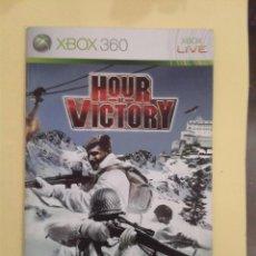 Videojuegos y Consolas: HOUR OF VICTORY (INSTRUCCIONES). Lote 93401010