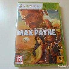 Videojuegos y Consolas: MAX PAYNE 3 XBOX 360 NUEVO. Lote 95584123