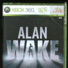 Videojuegos y Consolas: ALAN WAKE XBOX 360 EDICIÓN ESPAÑA - NUEVO PRECINTADO SEALED NEW. Lote 96194399