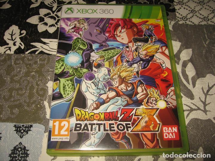 DRAGON BALL Z BATTLE OF Z XBOX 360 PAL ESPAÑA COMPLETO (Juguetes - Videojuegos y Consolas - Microsoft - Xbox 360)