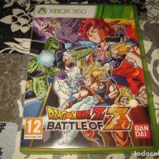 Videojuegos y Consolas: DRAGON BALL Z BATTLE OF Z XBOX 360 PAL ESPAÑA COMPLETO. Lote 96693947