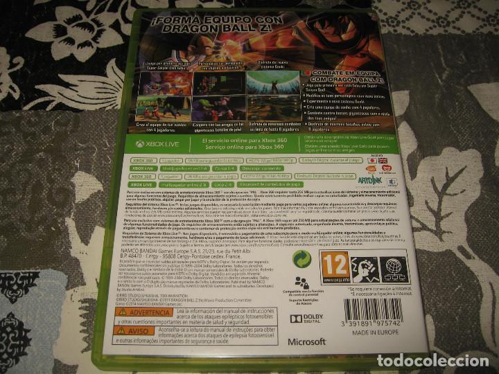 Videojuegos y Consolas: DRAGON BALL Z BATTLE OF Z XBOX 360 PAL ESPAÑA COMPLETO - Foto 2 - 96693947