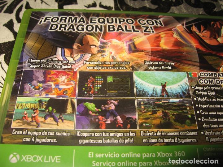 Videojuegos y Consolas: DRAGON BALL Z BATTLE OF Z XBOX 360 PAL ESPAÑA COMPLETO - Foto 3 - 96693947