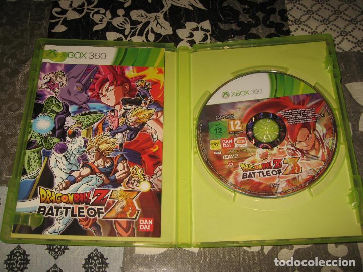 Videojuegos y Consolas: DRAGON BALL Z BATTLE OF Z XBOX 360 PAL ESPAÑA COMPLETO - Foto 4 - 96693947