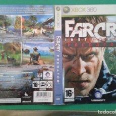 Videojuegos y Consolas: FARCRY PREDATOR (CARATULA). Lote 96903291