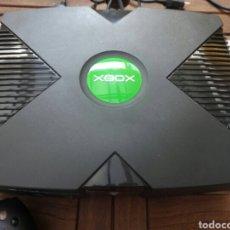 Videojuegos y Consolas: CONSOLA VIDEOJUEGOS XBOX CLÁSICA CON CAJA. Lote 97165579