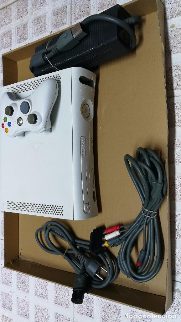 CONSOLA XBOX 360 -FUNCIONANDO (Juguetes - Videojuegos y Consolas - Microsoft - Xbox 360)