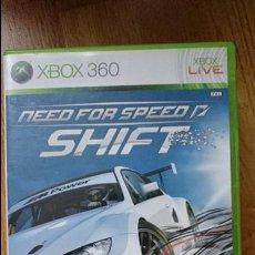 Videojuegos y Consolas: NEED FOR SPEED SHIFT XBOX 360 VIDEOJUEGO DVD. Lote 70697309