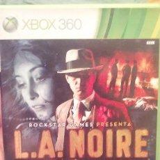 Videojuegos y Consolas: JUEGO L.A NOIRE XBOX360. Lote 99199467